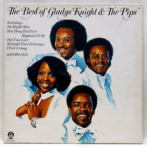 GLADYS KNIGHT AND THE PIPS The Best Of Vinyl LP Buddah BDLH 5013 UK 1976