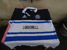 Maillot de rugby porté Bath match worn  Adidas vintage T XL floqué 11