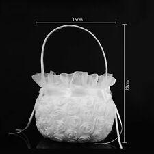 Flower Basket Silk Rose Petals Bride Bridesmaid Wedding Scatter Party