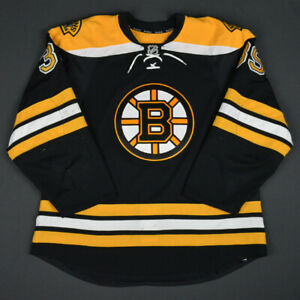2015-16 Matt Beleskey Boston Bruins Game Used Worn Reebok Hockey Jersey NHL