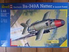 Maquette Avion REVELL 1/48 Ref 4613 Bachem Ba-349A Natter & Launch Tower