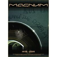 MAGNUM 'LIVIN THE DREAM' 2 DVD NEW+!!!!!