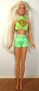 MATTEL Barbie PEARL BEACH SKIPPER bathing suit vintage As Is