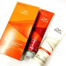 Wella Wellastrate Intense Hair Relaxer Permanent Hair Straightening Cream Kit Se