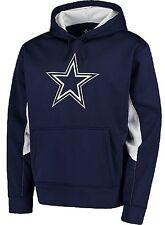 NFL Dallas Cowboys Men's Murphy Colorblocked Performance Fleece Hoodie, X-Large