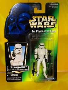 Star Wars - Power of the Force - Imperial Stormtrooper (Green Japanese)