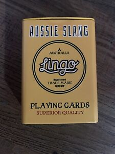 Aussie Slang Laungage Playing Cards Lingo New