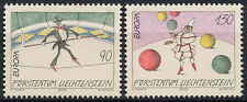 Liechtenstein 2002 SG#1271-2 Europa il Circo Gomma integra, non linguellato Set #D2047