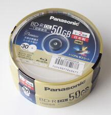 30pc Panasonic 3d Blu-ray 50 Go 2x Fabriqué en Japon Bd-r HD