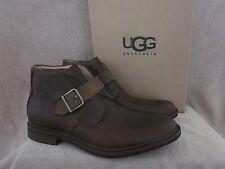 UGG Australia 1009220 Espresso Graham Casual Leather Shoes US 10 M EUR 43 NWB