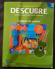 Descubre 3 Lengua y cultura del mundo hispanico Cuaderno de practica 2008