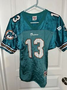 YOUTH Dan Marino Vintage Miami Dolphins jersey WILSON Size M Vintage