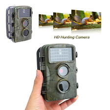 H3W Wildlife LED Animal Trap Trail Hunting Scouting 8MP HD Game Camera Cam