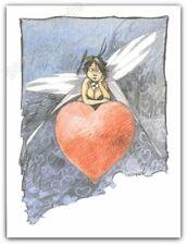 Image Offset LOISEL Fee Clochette Coeur 18x24 cm