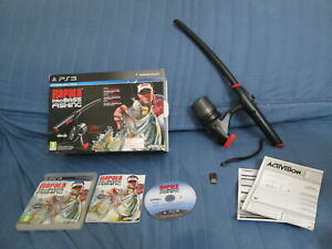 PS3 : RAPALA PRO BASS FISHING + CANNA DA PESCA - Completo, ITA ! CONS IN 24/48H