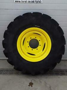New Firestone Performer 85 Tyre On Rim 380/85x24