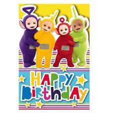 Invitaciones y felicitaciones de fiesta color principal multicolor de cumpleaños infantil