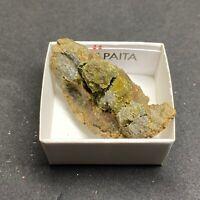 ANAPAITA - Anapaite - MINERAL COLECCION - CAJITA 4x4 cms - BOX - L81