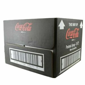 coke zero  Bag in Box Postmix Syrup - 1x7 LITRE (SEE DISCRIPTION)