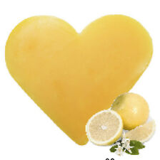 """"""""""" SPECIAL OFFER """"""""   3 x Grapefruit Heart Shaped Guest Soaps - FREE P+P"""