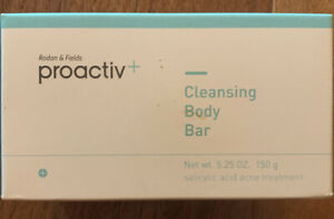 Proactiv Cleansing Body Bar Sealed In Box 5.25 oz Expired