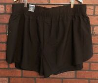 Xersion Fitted Workout Shorts Women's Black Size 2X