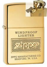 Zippo 28145 Windproof Polish Brass Lighter with PIPE INSERT PL