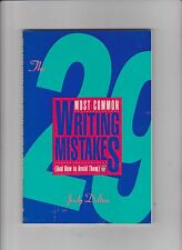 The Twenty-Nine Most Common Writing Mistakes and How to Avoid Them by Judy Delto