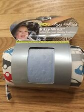 Newi Itzy Ritzy Wrap Infant Car Seat Handle Cushion Rodeo Drive Blue Cars