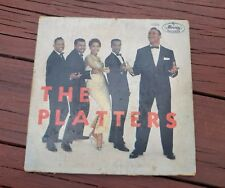 """THE PLATTERS MEXICAN VINYL LP 7"""" MEXICO MERCURY RECORDS - ONLY YOU"""