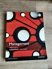 Management 13th edition Robbins, Coulter PEARSON ISBN1292090200