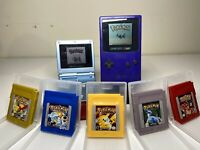 Pokemon Gameboy Games! 5pc All games (Yellow, Red, Blue, Gold, Silver) Repros