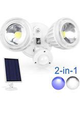 Solar Motion Sensor Wall Light-Duel Head (WP-GA-PIR0026-02-1