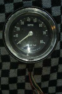 Volvo Amazon 122 140 144 1800  Dash Mounted Smiths Rev Counter / Tachometer