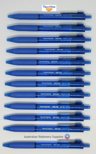 12 x Blue Papermate Inkjoy 300 RT Retractable Ballpoint Pen Medium
