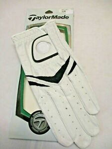 TaylorMade Stratus Custom LEFT HAND Leather Golf Glove (FOR RIGHT HANDED MEN)