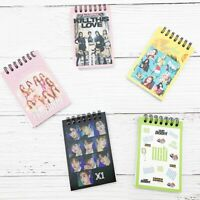 Kpop BLACKPINK TWICE IZONE Coil Notebook NCT X1 Diary Book Stationery lskn 0MJ&@