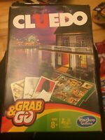 Cluedo (Clue) Grab And Go Travel Board Game Age 8+ Hasbro Free UK Post