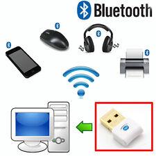Hot USB Bluetooth Adapter Dongle-PC Windows 10 8 7 XP Vista Speakers Headphones