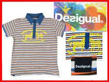 DESIGUAL Polo For Man Size M DE07 TOL1