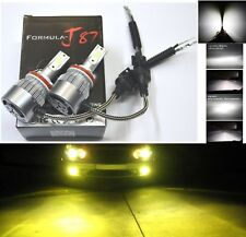 LED Kit C6 72W H11B 3000K Yellow Two Bulbs Head Light Low Beam Replace Upgrade