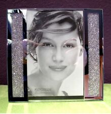 "Swarovski Crystal Filled Picture Frame for 5"" x 7"" Photo Size - Brand New!"