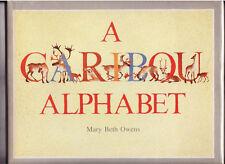 "SIGNED Mary Beth Owens ""A CARIBOU ALPHABET""-Illustrated/HC/DJ/1st Ed."