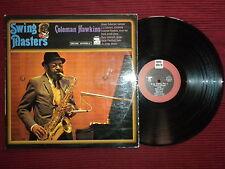 "LP COLEMAN HAWKINS ""Swing masters"" RIVERSIDE 673 011 µ"