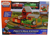 Thomas & Friends Percy's Mail Express Track Master Motorized Engine Railway Set