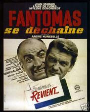 Fantomas se dechaine  Louis De Funes movie poster