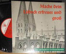 """BUXTEHUDE MACHE DEIN LÜBECK ERFREUET UND GROSS BRUNO GRUSNICK 10 """" LP (25 cm)"""