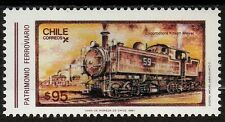 Chile 1987 Scott # 741 Andean Railways Kitson-Meyer Train N° 59 1907 Mnh