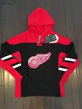 Detroit Red Wings NEW Youth Large Drift Hooded Sweatshirt . NHL Hockey Hoodie