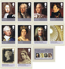 GB - Mint PHQ Cards - 2011 - Kings and Queens